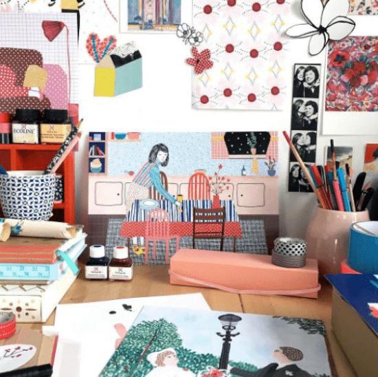 Ilustrações e colagens incríveis da Manon de Jong