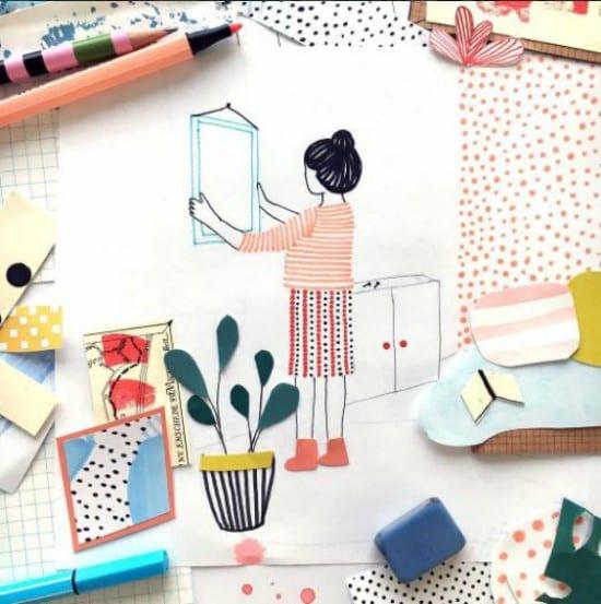 Ilustrações e colagens incríveis da Manon de Jong 2