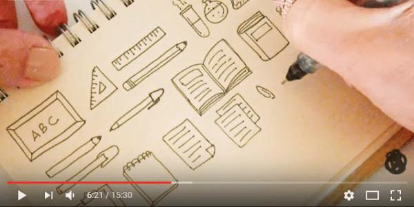Desenhos Faceis Para Decorar O Planner E Bullet Journal A Craft