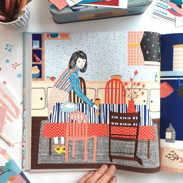 Ilustrações e colagens incríveis da Manon de Jong 5
