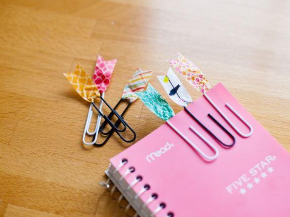 11 Ideias DIY de papelaria com washi tape para o volta às aulas 9