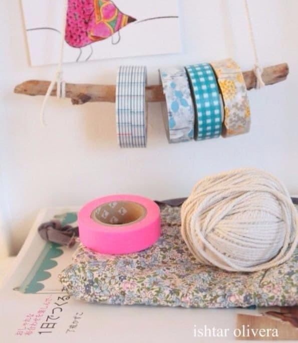 11 Ideias DIY de papelaria com washi tape para o volta às aulas 7