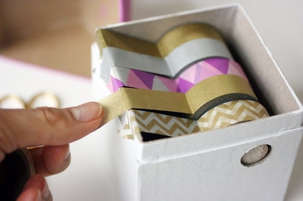 11 Ideias DIY de papelaria com washi tape para o volta às aulas 4
