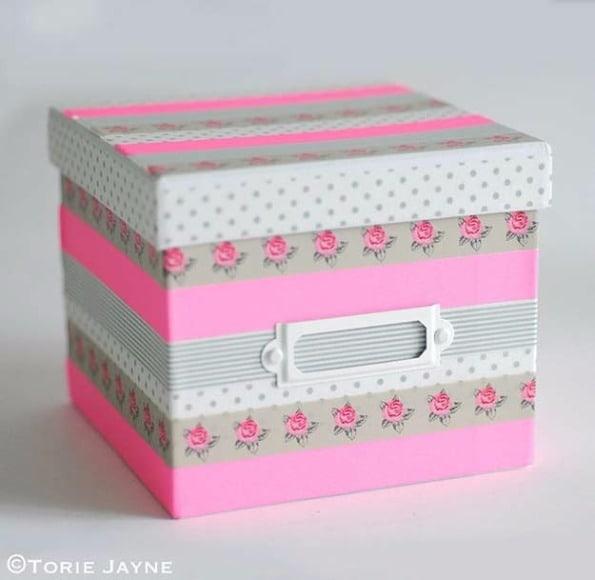 11 Ideias DIY de papelaria com washi tape para o volta às aulas 6