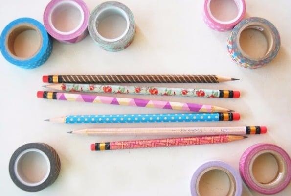 11 Ideias DIY de papelaria com washi tape para o volta às aulas 11