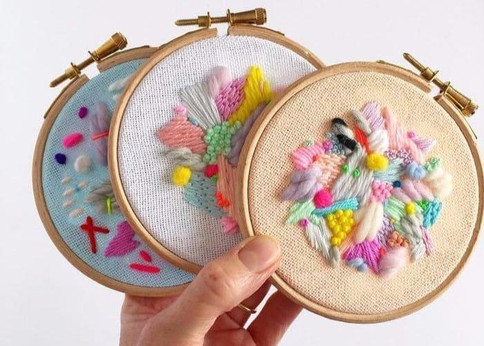 Elizabeth Pawle e seus bordados deslumbrantes
