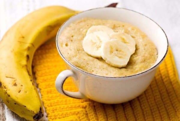 5 receitas de caneca para fazer em casa bolo de banana bolo de banana