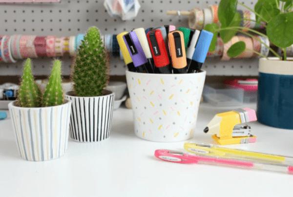 10 DIYs criativos com caneta Posca