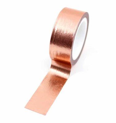 Washi-tape---Cobre