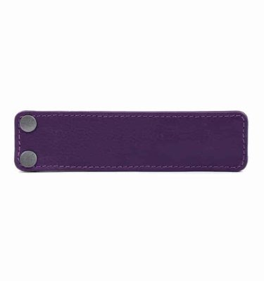 Acessório para Capa em couro original A.Craft - Lingueta roxo berinjela
