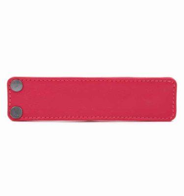 Acessório para Capa em couro original A.Craft - Lingueta vermelho cerejab
