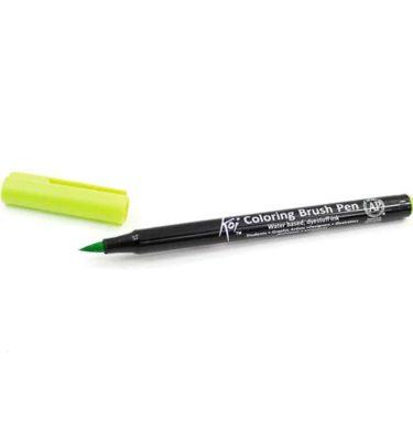 Caneta pincel - Koi Coloring Brush - Cor verde limão