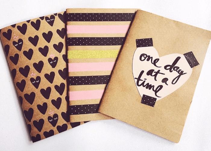 Dicas e inspirações para decoração do seu caderninho craft 5