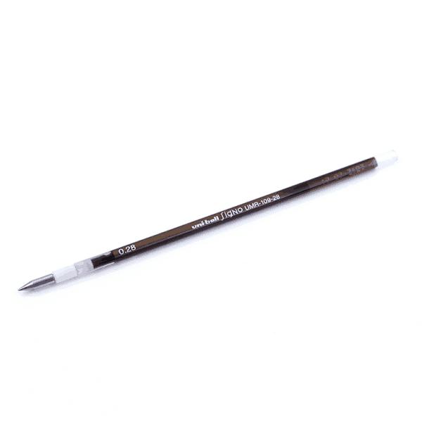 Carga-Uni-Style-Fit---tinta-gel---0,28mm---Marrom-escuro