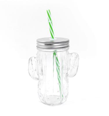 Copo de vidro - Cacto - 500ml