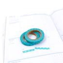 Kit com 2 washi tape – Poá azul e branco5