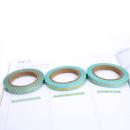 Kit com 3 washi tapes – Menta com triângulos, losangos e onda dourada5
