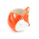 Cachepô de cerâmica – Fox laranja 2