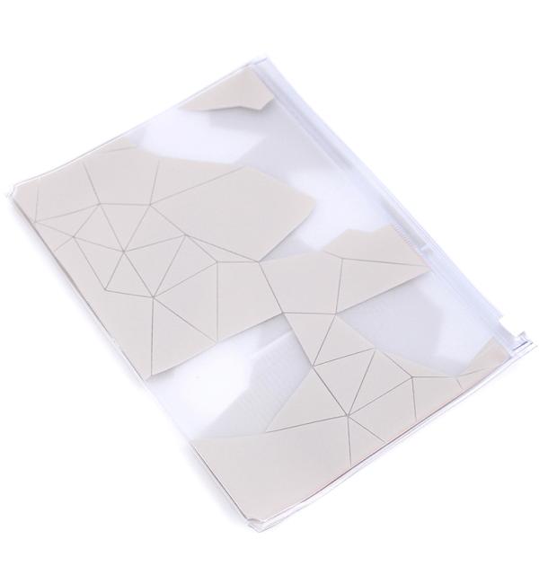 Planner-A.Craft-–-pasta-plástica-com-zíper-–-Estampa-Geometric-Sand