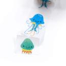 Washi tape – Água viva cute – Com picote2