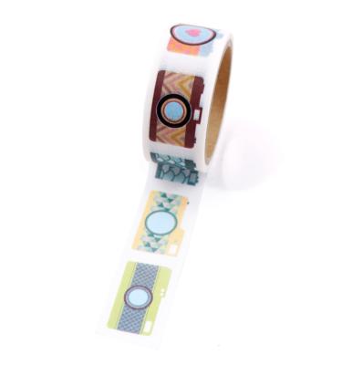 Washi tape – Câmeras - Com picote