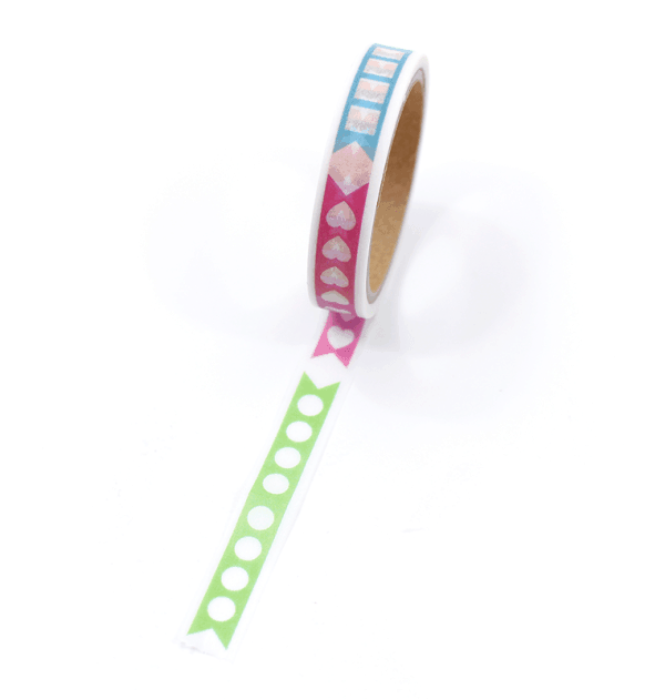 Washi tape – Check list- Com picote
