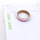 Washi tape – Check list- Com picote5