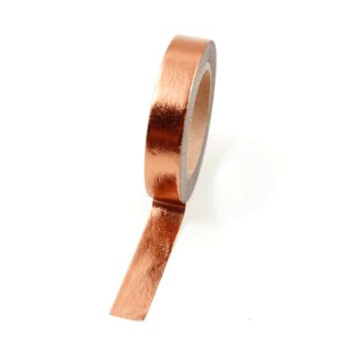 Washi tape – Cobre