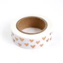 Washi tape – Corações cobre2