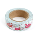 Washi tape – Flamingos e folhas3