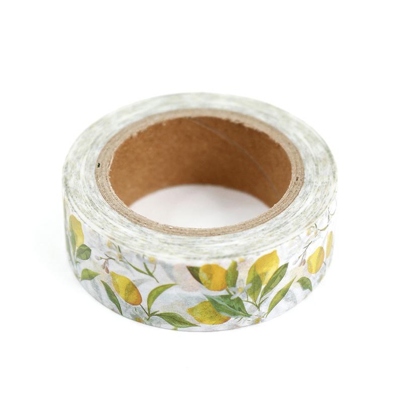 washi tape lim es a craft. Black Bedroom Furniture Sets. Home Design Ideas