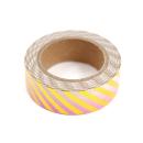 Washi tape – Listras diagonais dourado e degradê rosa e branco3