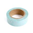 Washi tape – Menta com padrões de traçoes e pontos rose gold3