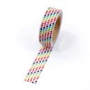 Washi tape – Mini corações coloridos