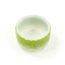 Washi tape – Pétalas verde e branco3