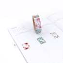 Washi tape – Padrões floral – Com picote5