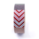 Washi tape – Padrões poá, chevron, listrado e xadrez coloridos2