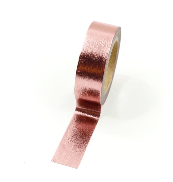 Washi tape – Rose gold