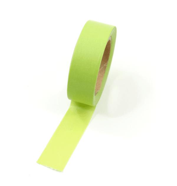 Washi tape – Verde claro