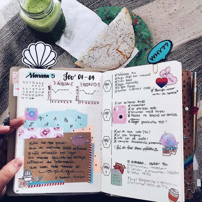 Planner ou bullet journal: qual deles é ideal para mim?