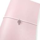 Acessório para planner A.Craft – Pingente prata – Diamante3
