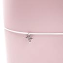 Acessório para planner A.Craft – Pingente prata – Diamante4