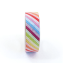 Washi tape – Listras diagonais coloridas1