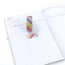 Washi tape – Listras diagonais coloridas3