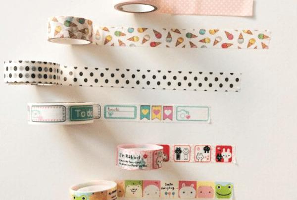Washi tape, decotape e papertape