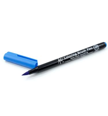Caneta-pincel-–-Koi-Coloring-Brush-–-Cor-azul-celúrio
