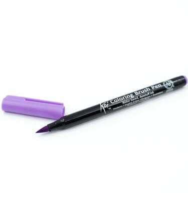 Caneta-pincel-–-Koi-Coloring-Brush-–-Cor-púrpura-claro