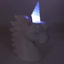 Luminária – Unicórnio head branco com led2