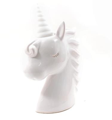 Luminária – Unicórnio head branco com led6