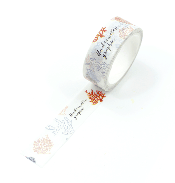 washi tape - algas marinhas3